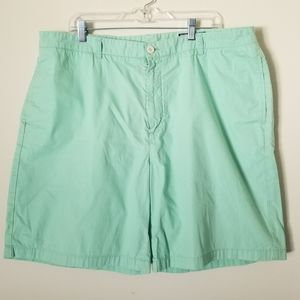 VINEYARD VINES Green Cotton Club Shorts Size 42